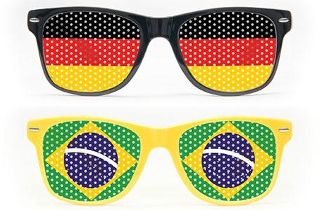 Fanbrillen als Werbegeschenk