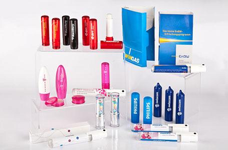 Lippenpflege als Werbegeschenk