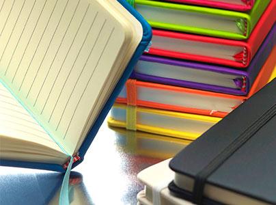 Notizbücher mit Offset